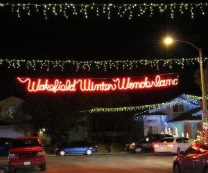 Wakefiled Winter Wonderland Christmas decorations