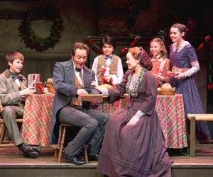 A Christmas Carol. Photo courtesy of South Coast Repertory