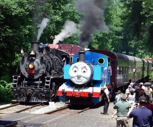 Catch the second and final weekend of Day Out With Thomas! Photo courtesy of Delaware  River Railroad Excursions