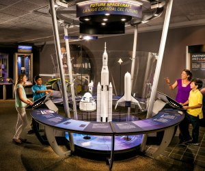 Check out the new developments surrounding space exploration at Above and Beyond./Photo courtesy Above and Beyond exhibit.