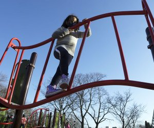 Climb to your heart's content at Adventure Playground