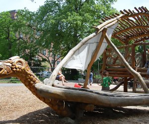 Boston Playgrounds with Brain-Boosting Fun: Alexander W. Kemp Playground