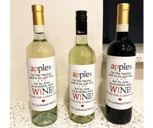 Teacher Appreciation Gifts:Wine!