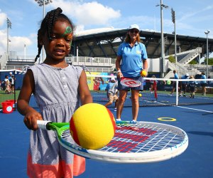 Arthur Ashe Kids' Day Festival. Photo courtesy of the USTA