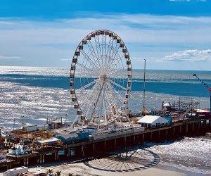 Steel Pier in Atlantic City, New Jersey