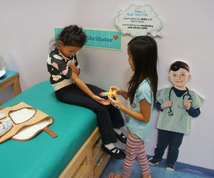Pretend City Children's Museum in OC: This is a great year to learn about getting shots!