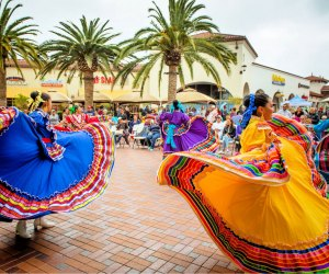 Ballet Folklórico de San Juan Capistrano performs at Fiesta de Mayo Celebration. Photo courtesy of San Clemente Outlets