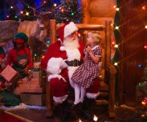 See Santa at several FREE events around town this holiday season./Photo courtesy Bass Pro Shops