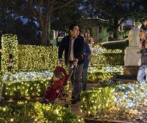Bayou Bend's annual Christmas Village is a sparkling wonderland the whole family will enjoy./Photo courtesy of the Museum of Fine Arts, Houston.