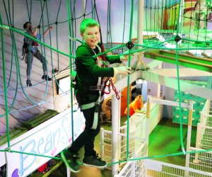 BeanStalk Adventure Ropes Course Indoor Play Space