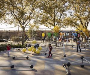 Betsy Head Park Playground offers plenty of fun.