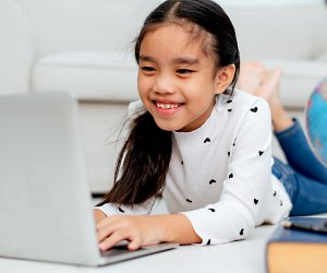 Online tutoring services remove the stress of commuting to a learning center with on-demand tutors. Photo by Mommy Poppins