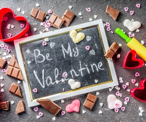 Bake, sample treats, and find more activities for V-Day in NJ. Photo via Bigstock