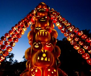 The Great Jack O'Lantern Blaze is a can't-miss Halloween experience. Photo courtesy of Historic Hudson Valley