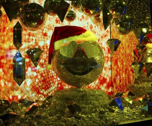 Bloomingdale's holiday windows invite visitors to Give Happy
