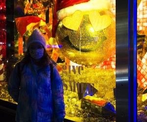 Bloomingdale's holiday windows Fun Things to Do with Kids in NYC Over the Holiday Break