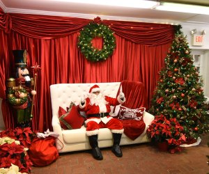 Enjoy a buffet breakfast and stay for a photo with Santa at the Milleridge Inn. Photo courtesy of the inn
