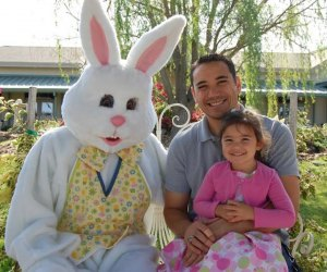 Enjoying Breakfast with the Easter Bunny/Photo courtesy of Brookwood Community