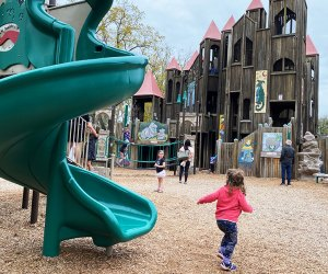 kids playing at Kids Castle Park