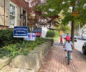 kids riding bikes in Doyleston