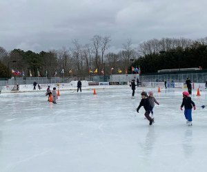 Kids go ice skating at Buckskill Ice Skating Rink during February Break