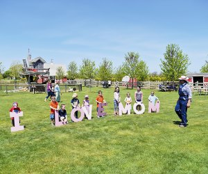 Celebrate mom with a visit to Harbes Family Farm on the North Fork this weekend. Photo courtesy of the farm