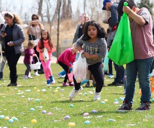 Children ages 1 through 12 are invited to stop by Maggie Daley Park for The Great Chicago Egg Hunt. Photo courtesy of Maggie Daley Park