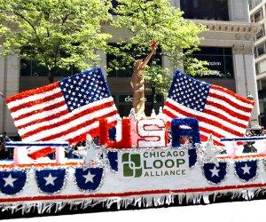 The Chicago Memorial Day Parade.