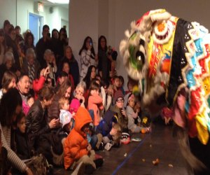 The free Chinese New Year celebration at the Pelham Art Center. Photo courtesy of venue.