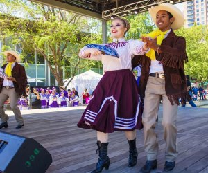 Celebrate Cinco de Mayo with a special performance by Kinder HSPVA at Discovery Green./Photo courtesy o fMorris Malakoff, The CKP Group.