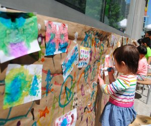 Join CMA's Kids Fair for FREE outdoor artistry. Photo courtesy of the museum
