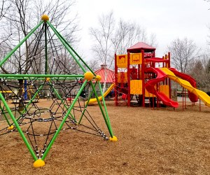 Community Park Playground is fun for special needs children