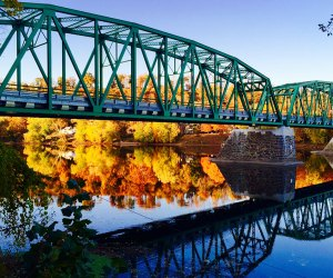 Bucks County, Pennsylvania offers beautiful leaf peeping and more family-friendly fall activities