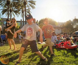 Moved to move at Playa Vista's concert in the park. Photo courtesy of Playa Vista