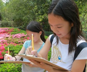 Kids can tap into their inner sleuth at Bayou Bend's Detective Days. Photo courtesy of Museum of Fine Arts, Houston.