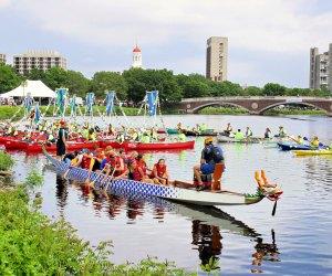 Dragon Boat Festival. Photo courtesy of Massachusetts Office of Travel & Tourism
