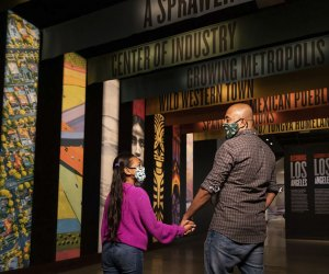 Visiting the Natural History Museum with Kids: Becoming Los Angeles