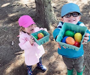 Search for Peter Rabbit's lost eggs at Johnson's Corner Farm. Photo courtesy of the farm