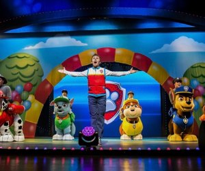 Ryder and the gang from Adventure Bay take the stage at NJPAC. Photo courtesy of  VStar Entertainment Group.
