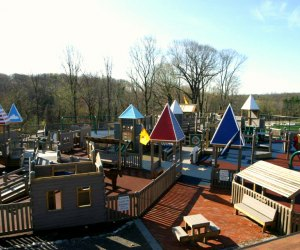 The spacious Freedom Playground in Haverford lets kids' imaginations run wild. Photo courtesy the playground