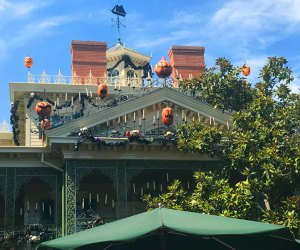 Disneyland Haunted Mansion at Halloween Time
