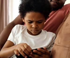 How To Set Limits on a Kids' New Cell Phone: Don't use them at means or bedtime