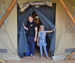 Huttopia Paradise Springs: Discover the Best New Glamping near Los Angeles: gorgeous tents