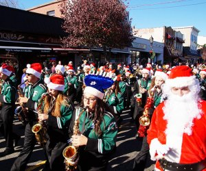 Usher in the season at the Farmingdale Chamber of Commerce's annual holiday parade.  Photo courtesy of the chamber of commerce