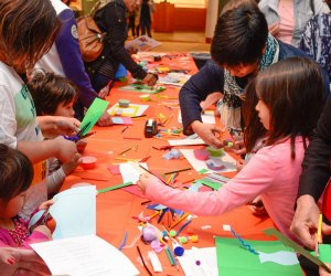 Drop in to the Princeton University Art Museum anytime between 10:30am and 1pm for Free Family Art Day. Photo courtesy of the museum