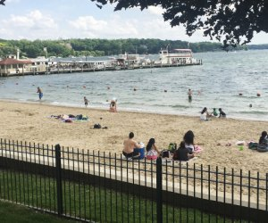 xploring the Shore Path of Lake Geneva: Time to hit the beach (when it's warm)