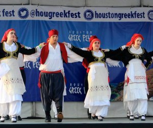 OPA! Celebrate Greek culture all weekend long/Photo via Houston Greek Fest.