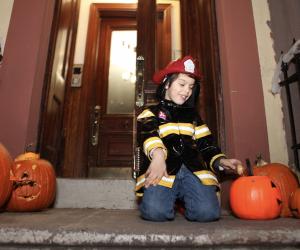 Kids' Halloween Costume Ideas: Firefighter