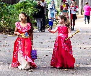 Take the little ones trick-or-treating at HalloWheaton, a free, family-friendly event  at WheatonArts. Photo courtesy of WheatonArts