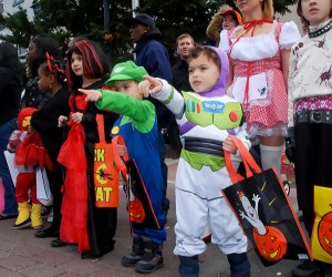 The popular Ragamuffin Parade in Hoboken features local live music, floats, lots of great costumes, and much more. Photo courtesy of the event